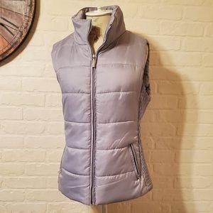 Liz Claiborne Zip Up Quilted Puffer Vest